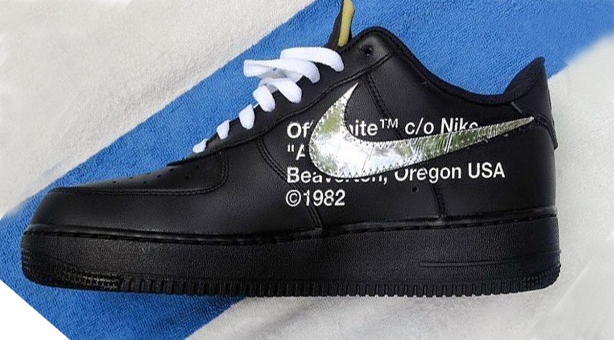 Off White to release a Black Nike Air Force 1 in 2018 COMETHAZINE