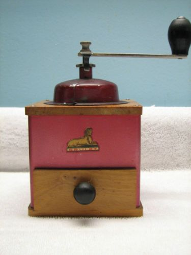 Grulet Coffee Mill Grinder Sphinx Logo, made in France ...