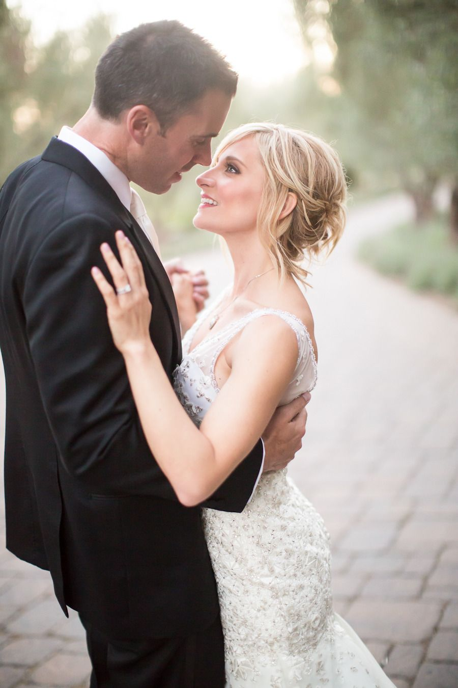 Photography: Jessica Lewis Photography - jessicalewisphoto.com  Read More: http://www.stylemepretty.com/california-weddings/2014/03/19/pink-and-gold-romance-at-san-ysidro-ranch/