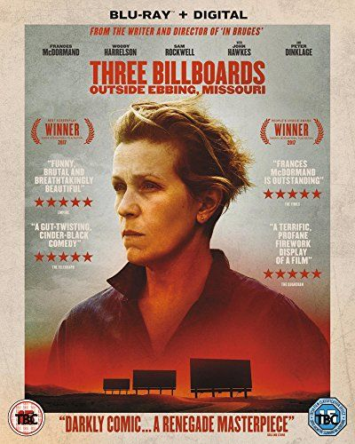 Three Billboards Outside Ebbing, Missouri Blu-ray + Digi   - missing in action poster
