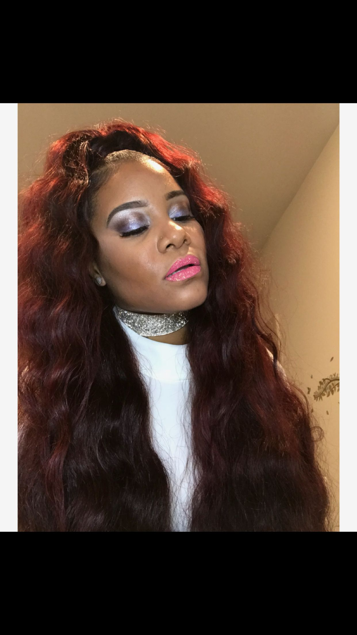 Half Up Half Down Sew In With Wand Curls Prom Hair Styles For Strapless Dresses Prom Hair Prom Hair Updo Elegant