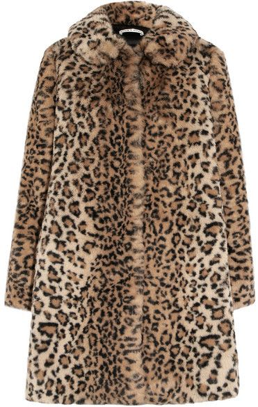 7623f3656c8b Alice + Olivia Alice Olivia - Kinsley Oversized Leopard-print Faux Fur Coat  - Leopard print #affiliatelink