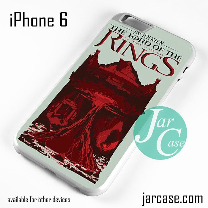 The Lord Of The Rings Book 3 Phone case for iPhone 6 and other iPhone devices