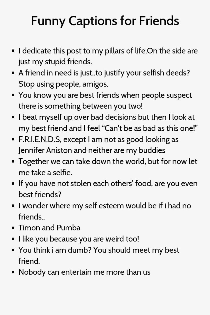 Best Bestie Friend Quotes Laughing 807481408172749192 Witty Instagram Captions Instagram Captions For Friends Instagram Captions For Selfies