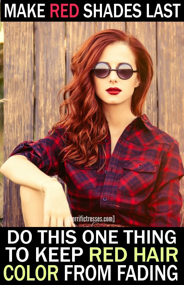 How to Stop Red Hair Fading – The Unnatural Redhead's Quick Guide
