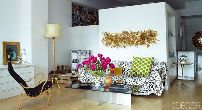 Carol Fertig Designer Interview - Small Apartment Living - ELLE DECOR