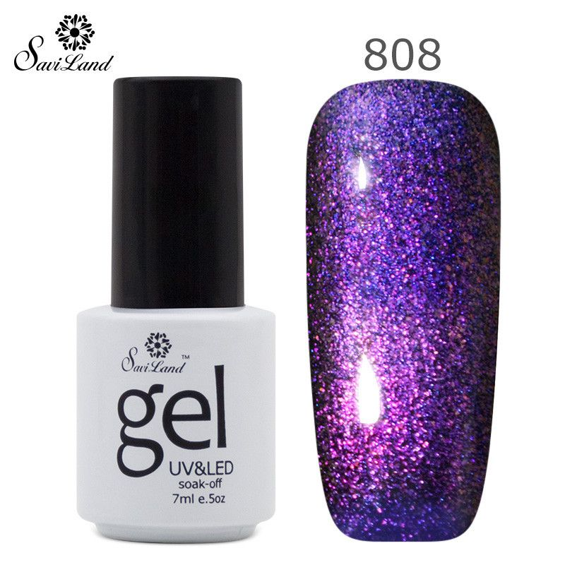 UV LED Gel Nail Polish Soak Off New Arrival 3D Glitter Manicure Nails