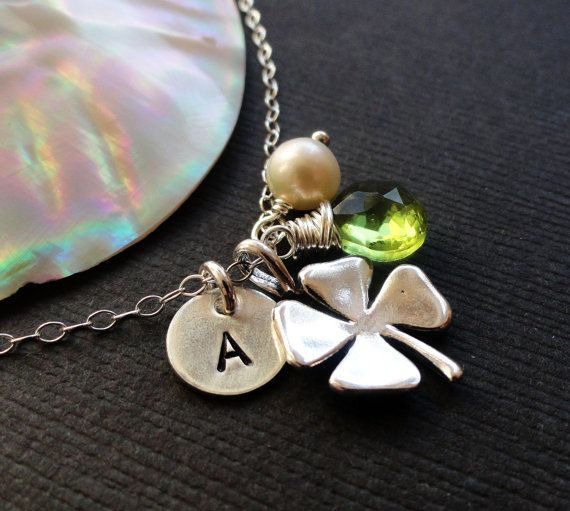 Etsy shamrock jewelry
