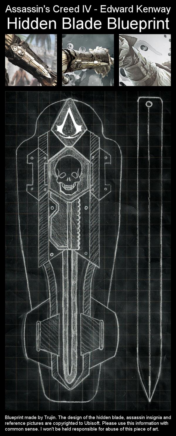 Aciv Edward Kenway Hidden Blade By Trujin On Deviantart Assassins Creed Assassins Creed Black Flag Assassin S Creed Hidden Blade