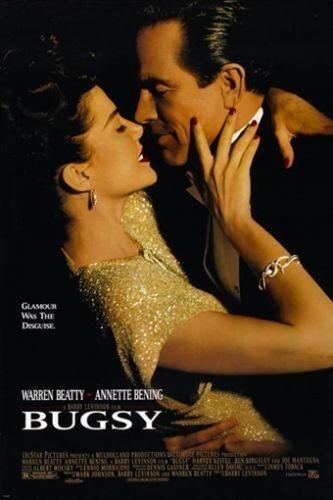 BUGSY vintage movie poster MAFIA warren beatty ANNETTE BENING 24X36 glamour
