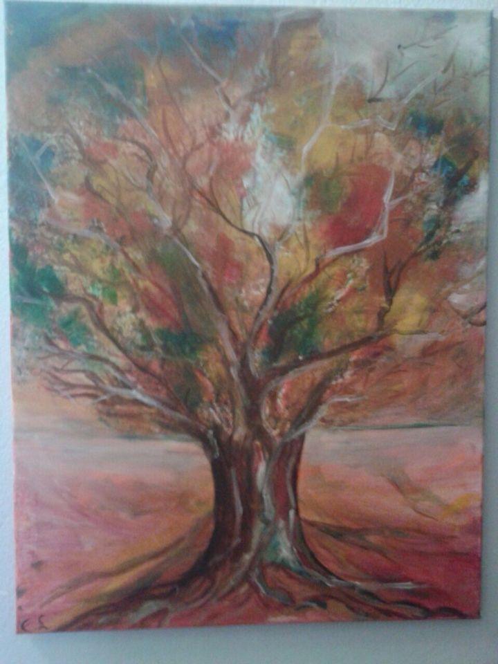 the tree of life  der baum des lebens von erika gemalen