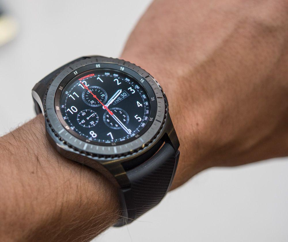 Samsung Gear S3 Frontier Classic Smartwatch Hands On Debut 악세사리
