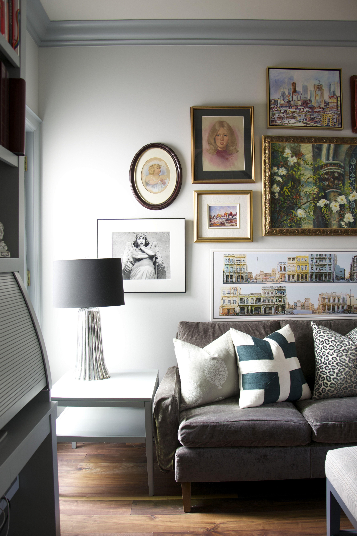 Wall Paint Color: Benjamin Moore - Gray Owl | Meredith Herons says ...