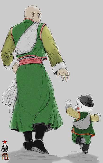 Tien Shinhan Chiaotzu I Just Really Love Them So Much Dragon Ball Dragon Ball Super Dragon Ball Art