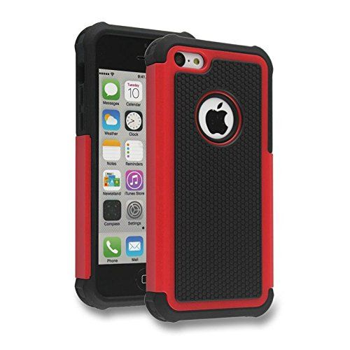 The Guardian by Cell Toolz, Red 2 Layer Hybrid Protective Cell Phone Case For iPhone 5 5s - Why choose between style and protection? With the Guardian cell phone case, you can have both. The Guardian provides a sleek, top quality, attractive design while safely protecting your investment from the mishaps of everyday life. The sturdy two layer design provides for ultimate protection.... - http://ehowsuperstore.com/bestbrandsales/cell-phones-accessories/the-guardian-by-cell-too