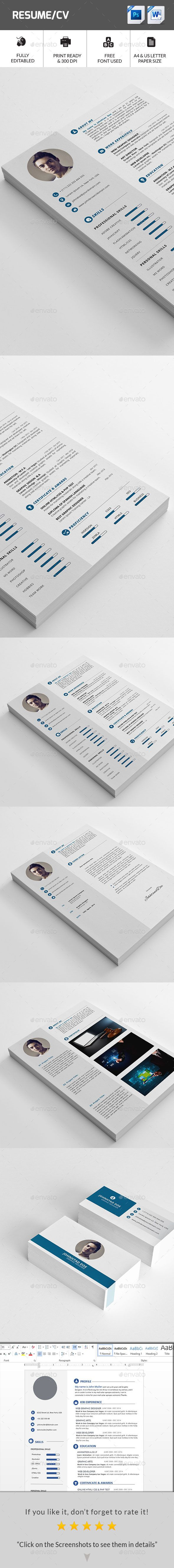 Resume cv photoshop psd profile swiss available here https cv resume template yelopaper Gallery