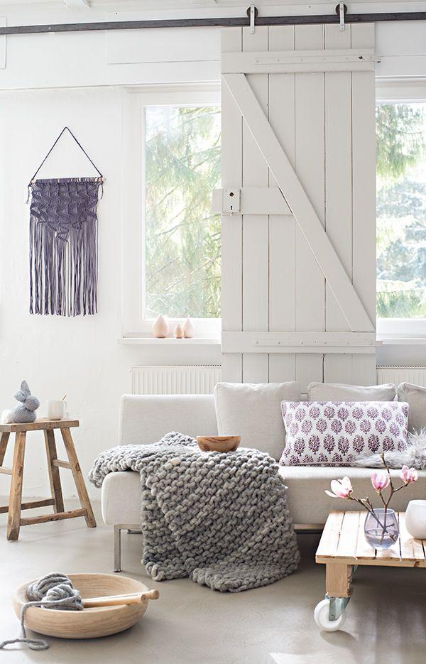 wunderschoen-gemacht: im strickfieber   living room // Wohnzimmer ...