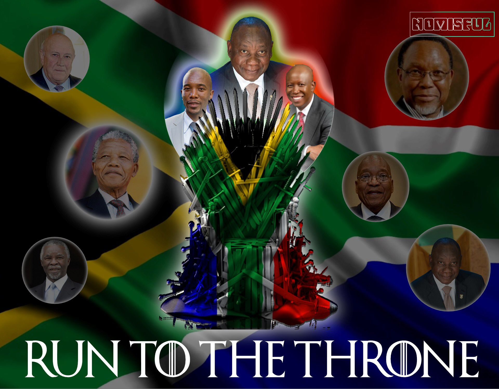 8 May 2019  #generalelection #ChrisHeunis #FWdeKlerk #NelsonMandela #got #ANC #ThaboMbeki #KgalemaMotlanthe #ramaphosa #JacobZuma #CyrilRamaphosa #xseday #xse #southAfricanelection  #southafrica #southafricanPresident #gameofthrones #thethrone #thecountry #African #NationalElection #8May #mmusimane #da #juliusmalema #EFF #malema #maimane