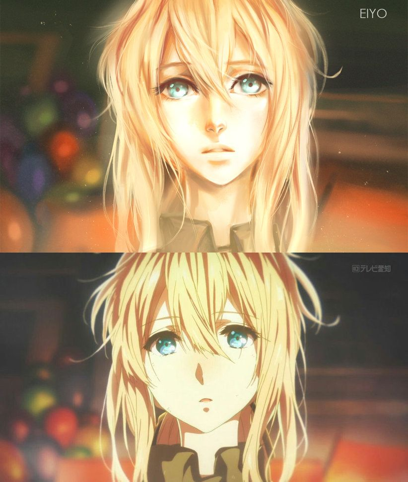 Violet Evergarden Fanart By EIYO By Eiyo-paints