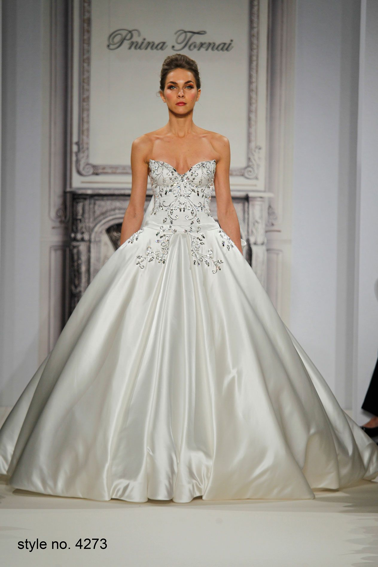 Pnina Tornai Style 4273 Pninatornai Ball Gown Wedding Dress Ball Dresses Wedding Dresses