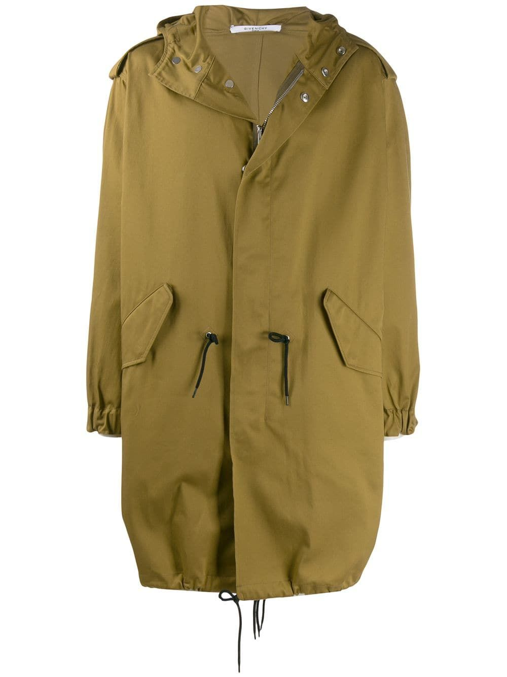 Givenchy Givenchy Address Military Parka Green Givenchy Cloth Military Parka Parka Designer Clothing Brands [ 1334 x 1000 Pixel ]