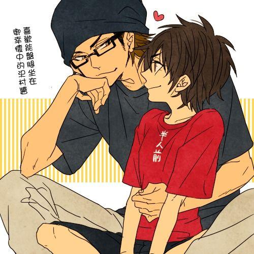 Diamond No Ace Genderbend: Miyuki And Sawamura (female)