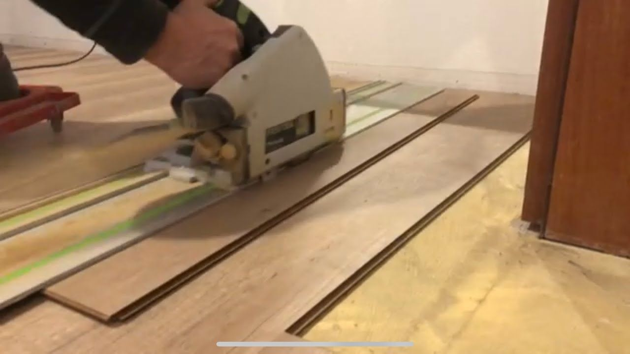 Laminat Verlegen Türe Kürzen übergangsleisten Anbringen Youtube Transition Strips Laminate Woodworking