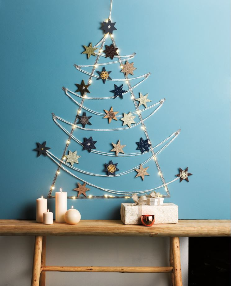 diy cr ez un sapin de no l toil noel pinterest christmas xmas et christmas. Black Bedroom Furniture Sets. Home Design Ideas