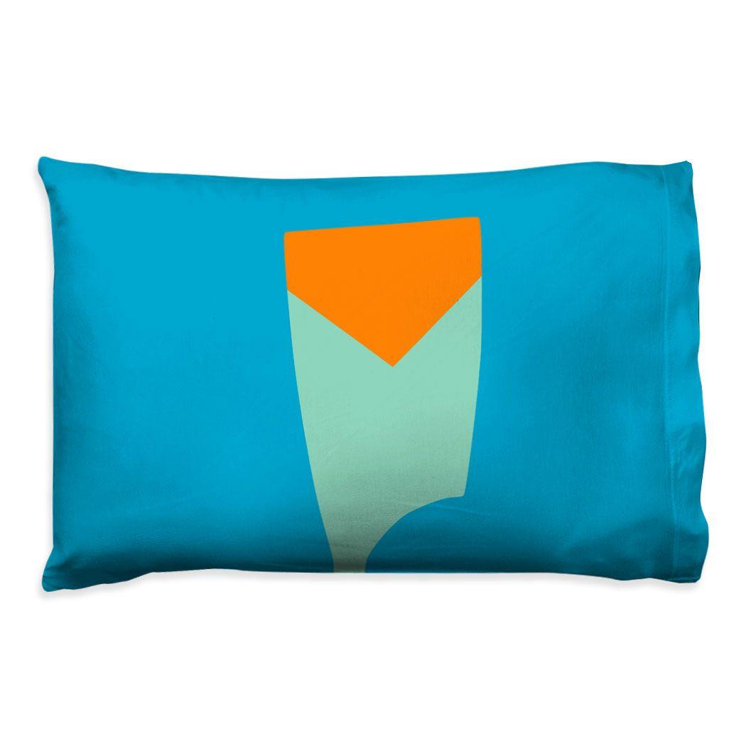 V Shaped Pillows Printed Vintage