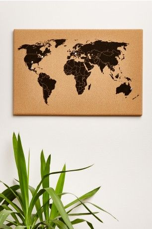 World map cork board earthbound trading co birthday christmas world map cork board earthbound trading co gumiabroncs Image collections