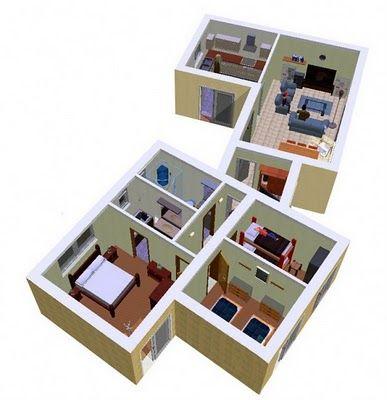 Planos De Casa De 141m2 Para Un Terreno De 133 Metros Cuadrados Con 3 Dormitorios Planos De Casas Casa De 3 Dormitorios Planos De Casas Dormitorios