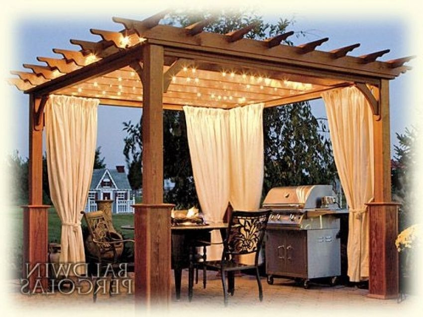 Image Result For Rooftop Deck Curtains Outdoor Pergola Diy Gazebo Pergola