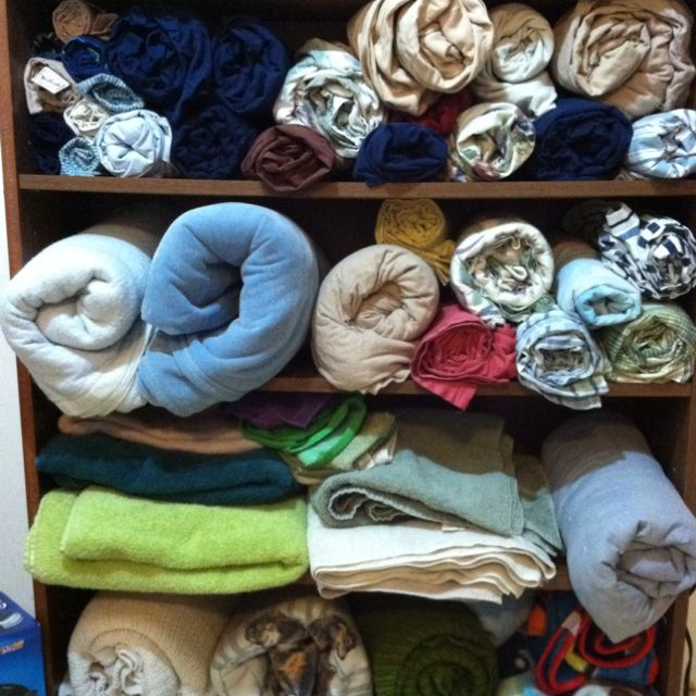This is a creative way to store towels, sheets, and blankets. I will be adding a cover and will upload once it's finished. :)