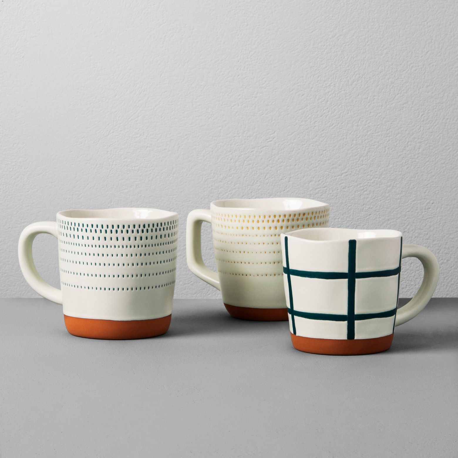 Warm your kitchen with the handmade look of this Stoneware