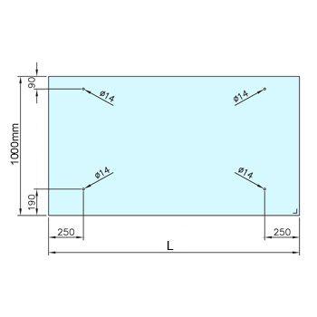 Glass Door Canopy Kit 4 Point Fixing 304 Grade Stainless Steel Fixings Door Canopy Kits Door Canopy Glass Roof