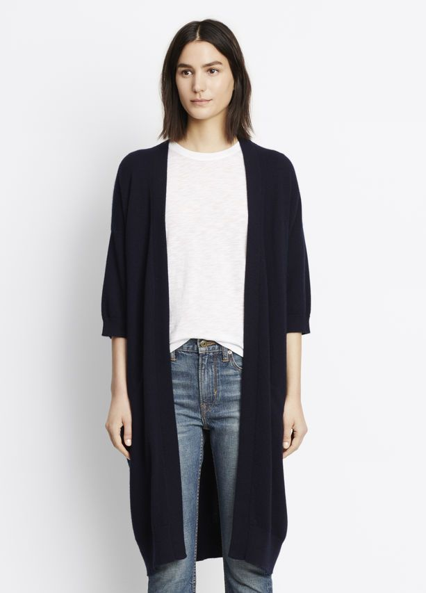 Cashmere Short Sleeve Cardigan | New stuff to love | Pinterest ...