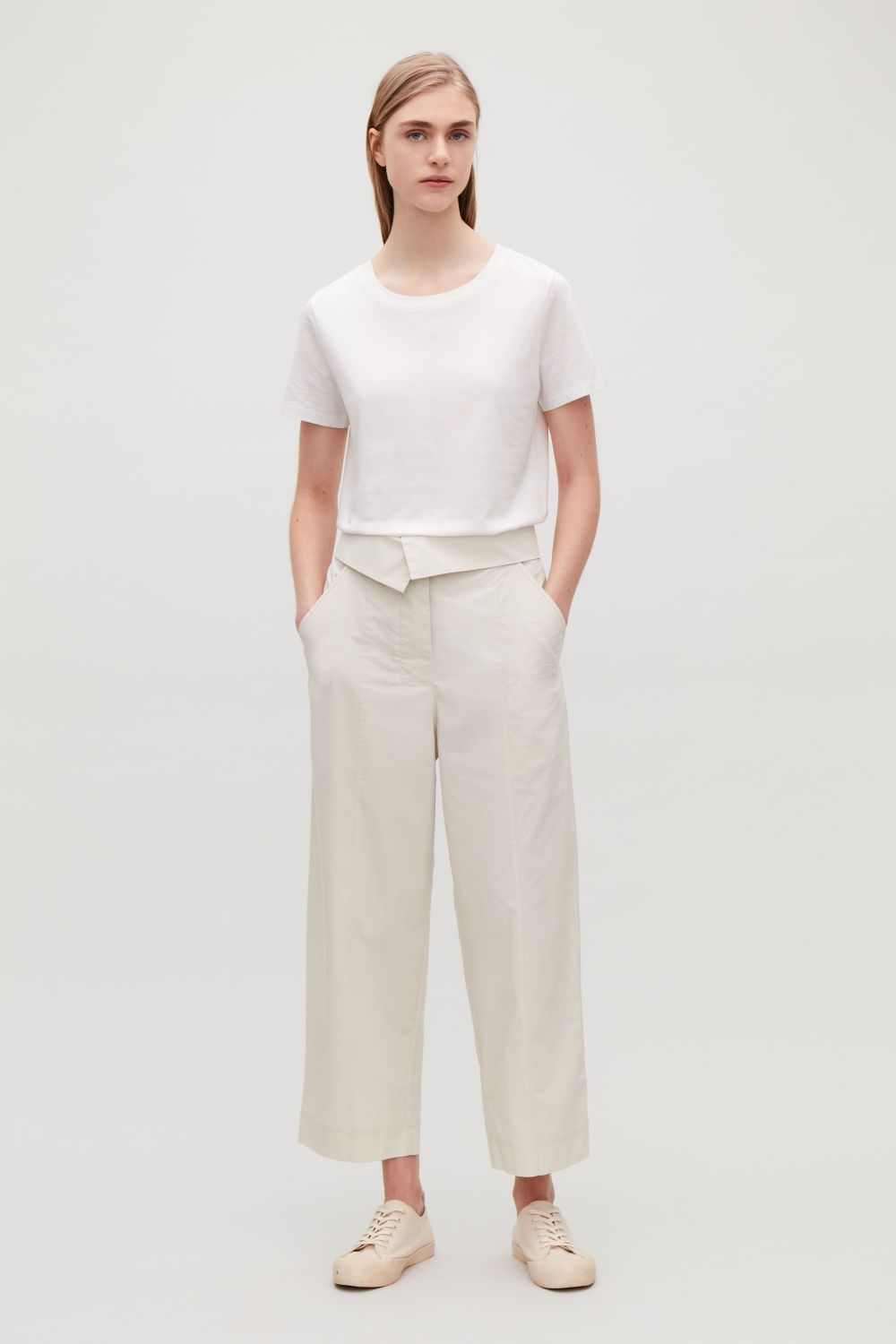 0768b99595 Trousers - Women - COS US | clothes | Cos trousers, Trousers ...
