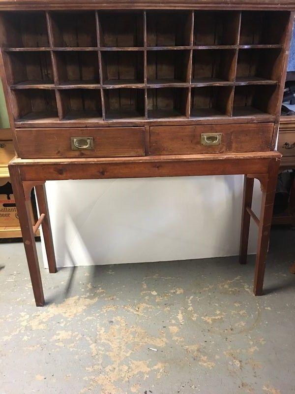 Antique Post Master Office letter/sorter desk. - Antique Post Master Office Letter/sorter Desk. Antiques Pinterest