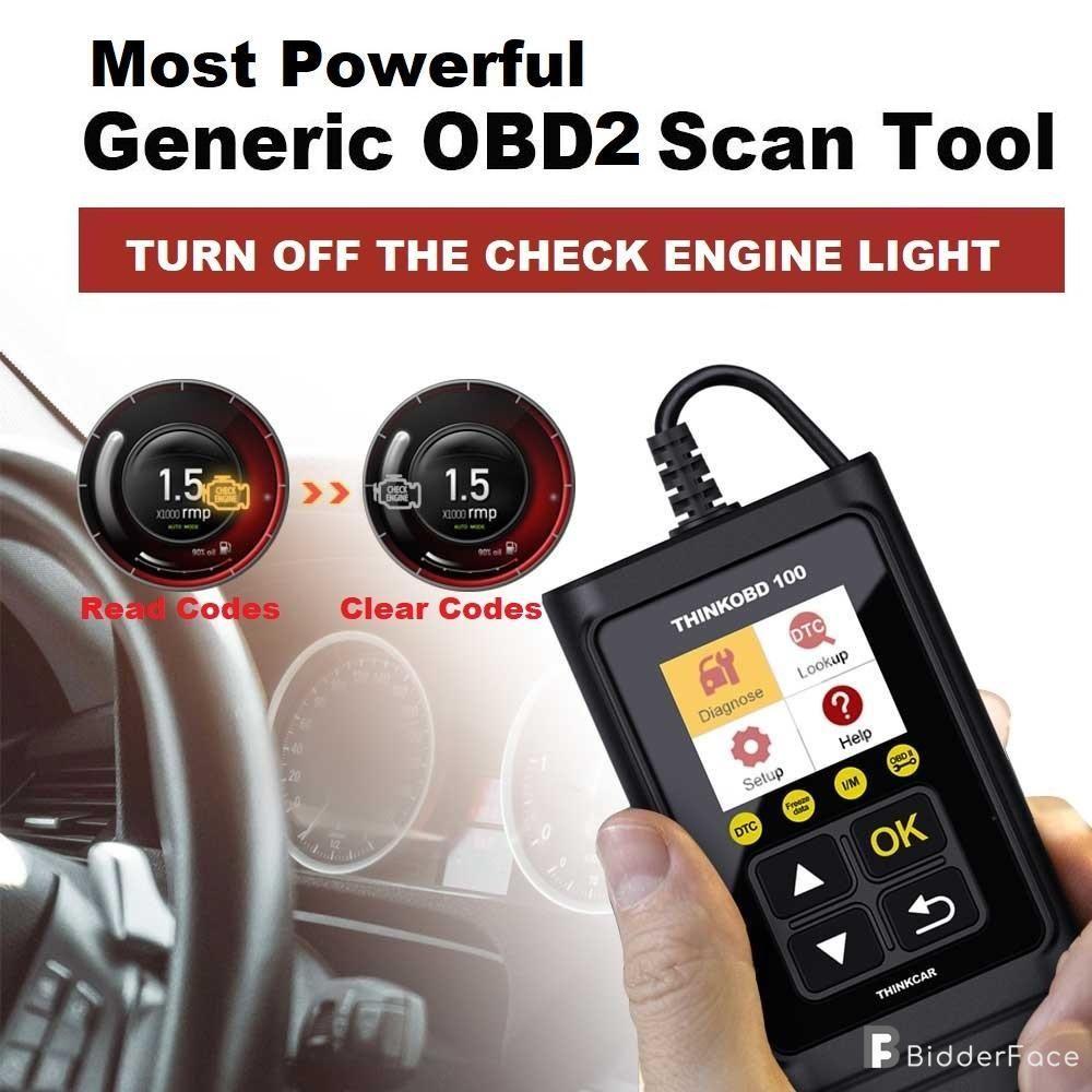 THINKOBD 100 Vehicles Diagnostics Scanner Tool OBD OBDII