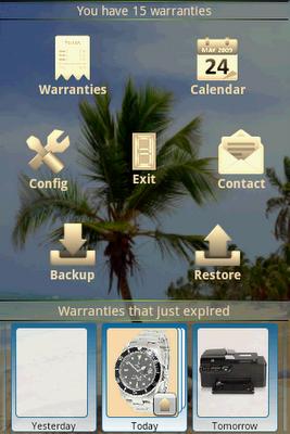 My Warranties Themes