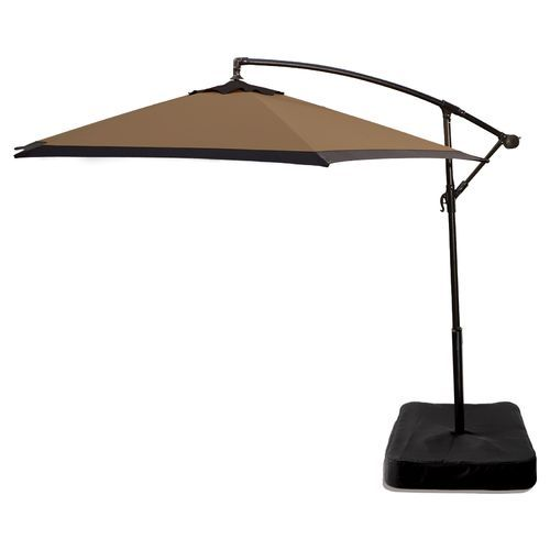 Mosaic 10 Offset Tilt Patio Umbrella With Base Perfect And Contemporary I Would Love To Have This Next The Pool On Scorching Hot Days