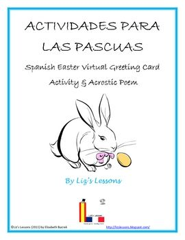 This Freebie Includes A Template For An Easter Acrostic Poem In