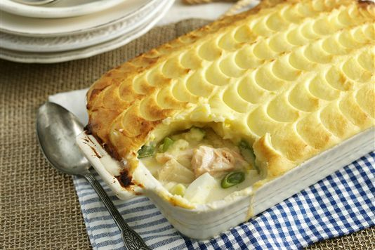 Cheesy fish pie recipe easy