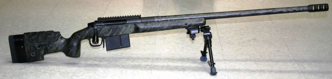 "ATRS Maverick 338 custom with 29"" Proof Research carbon barrel - saves 4-5 pounds!"