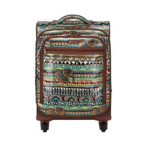 Women's Sakroots Artist Circle Spinner Carry On One World