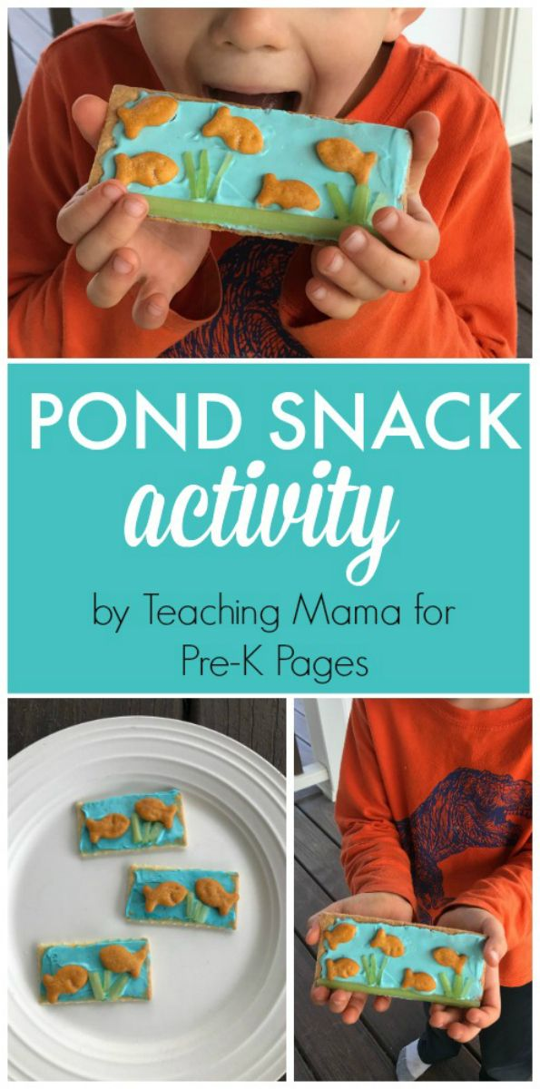 Pond Theme Snack Activity With Images Preschool Cooking