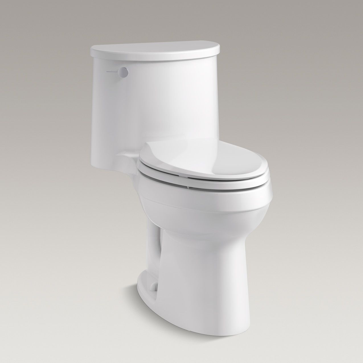 Adair Comfort Height One Piece Elongated Toilet K 3946 Kohler Kohler Kohler Kohler Toilet One Piece Toilets