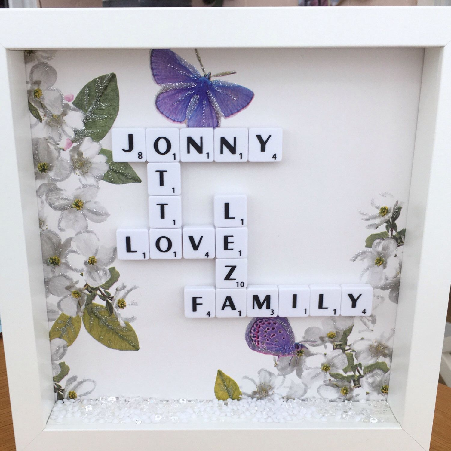 House Warming Gift Frame, New Home Gift Frame, Family Name Gift ...
