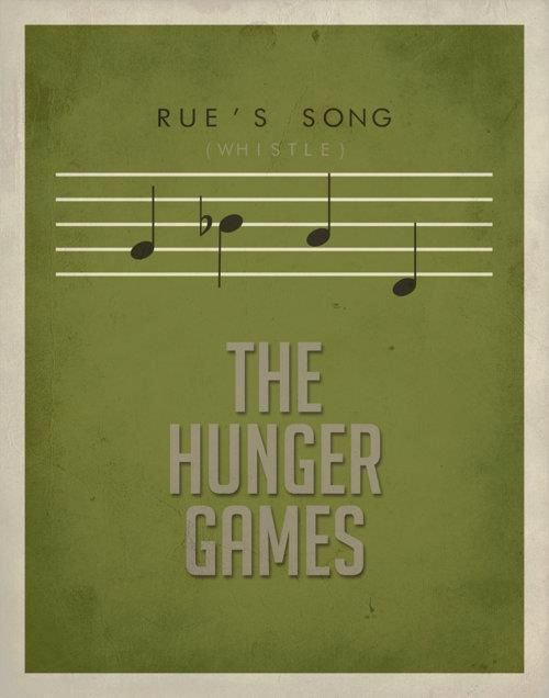 The hunger games, Rues song