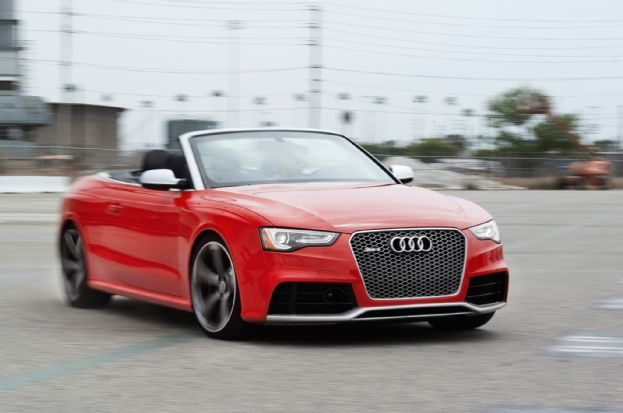 Other Nature Was A Busy Lady During Our Time With The 2013 Audi RS 5  Cabriolet.
